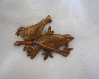 Sale Vintage Brass Bird Stamping