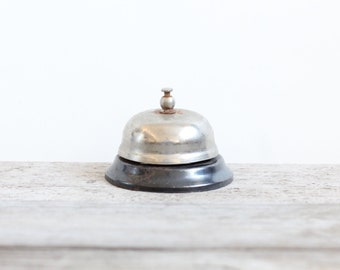 Silver Service Counter Bell