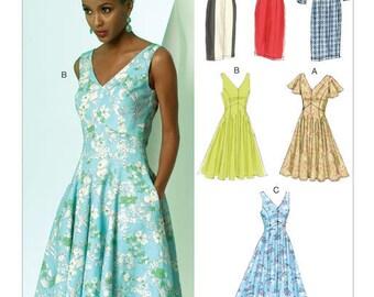 V8997 Vogue dress sewing pattern