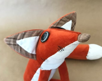 The Little Prince Fox Soft Toy