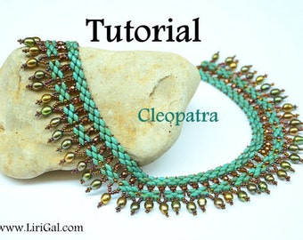 Tutorial Cleopatra SuperDuo Twin Necklace PDF