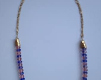 Vintage Czech beaded Necklace