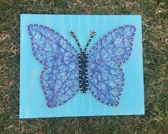 String Art Home Decor - Butterfly -