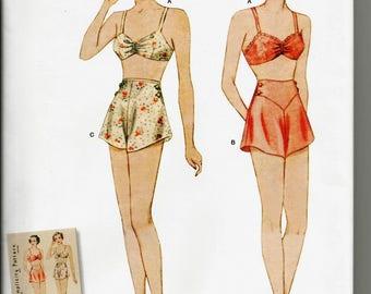 Simplicity 8510 new uncut size 12 - 20  womans lingerie bra and panties