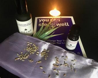 Sleep kit, restful sleep, insomnia, better nights sleep, deep sleep, aromatherapy, holistic sleep aid, sleep well kit, sleep gift, wellbeing