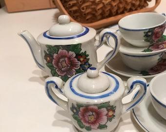 Tea Set 14 Pieces Made in Japan