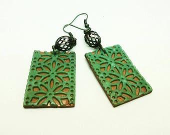 Organic Sutton Slice Earrings