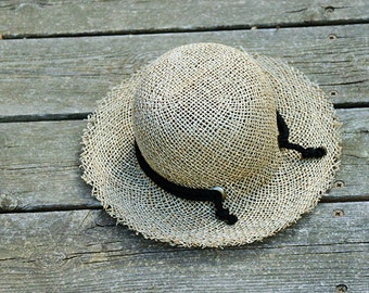 Straw Hat For Women , Womens Hats Summer , Straw Hat ,  Sun hat, Straw hat for summer , Beach hat