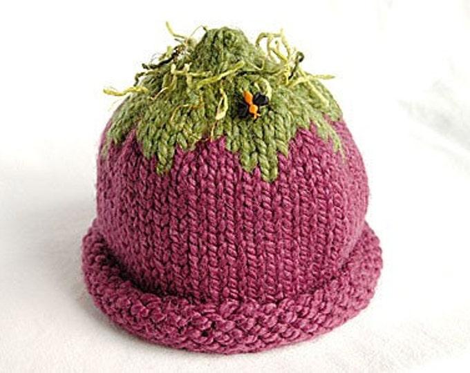 Eggplant Hat