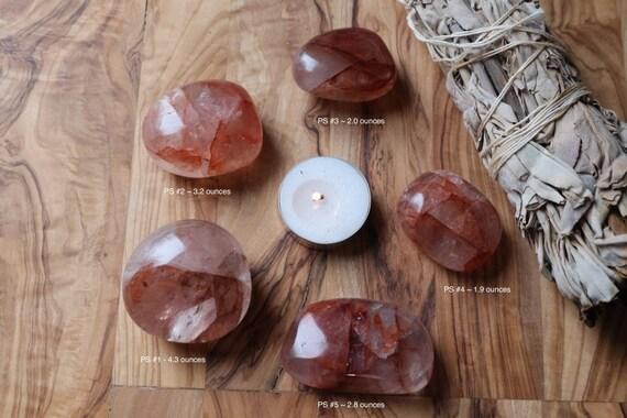 Lithium Quartz Palm Stone, Polished Lithium Quartz , Oval Lithium Quartz, Round Palm Stone, Pink Quartz, Pocket Stone, Meditation Stone