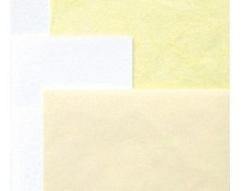 Kit 975472 yellow tissue paper and cards