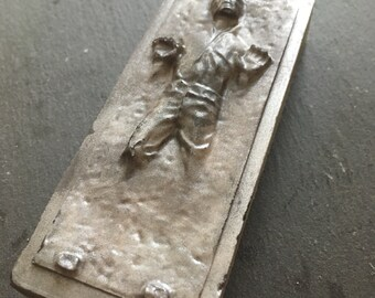 Star Wars Soap gift for him - coffee soap - Fathers day soap - Han Solo in Carbonite - boyfriend soap - may the force be with you