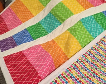 Custom Baby and toddler Quilt