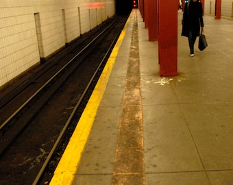 New York City Photography, Fine Art Prints, Giclee Art Print, New York Subway, Street Photography, Deborah Julian