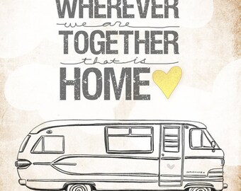 Travco Motorhome Edition- wherever we are together series