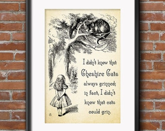 Alice in Wonderland Decor - Party Decorations - Wall Art - Centerpiece Party Gifts - Favors - Party Supplies - Props - 0180
