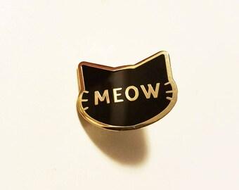 Cat Meow Pin