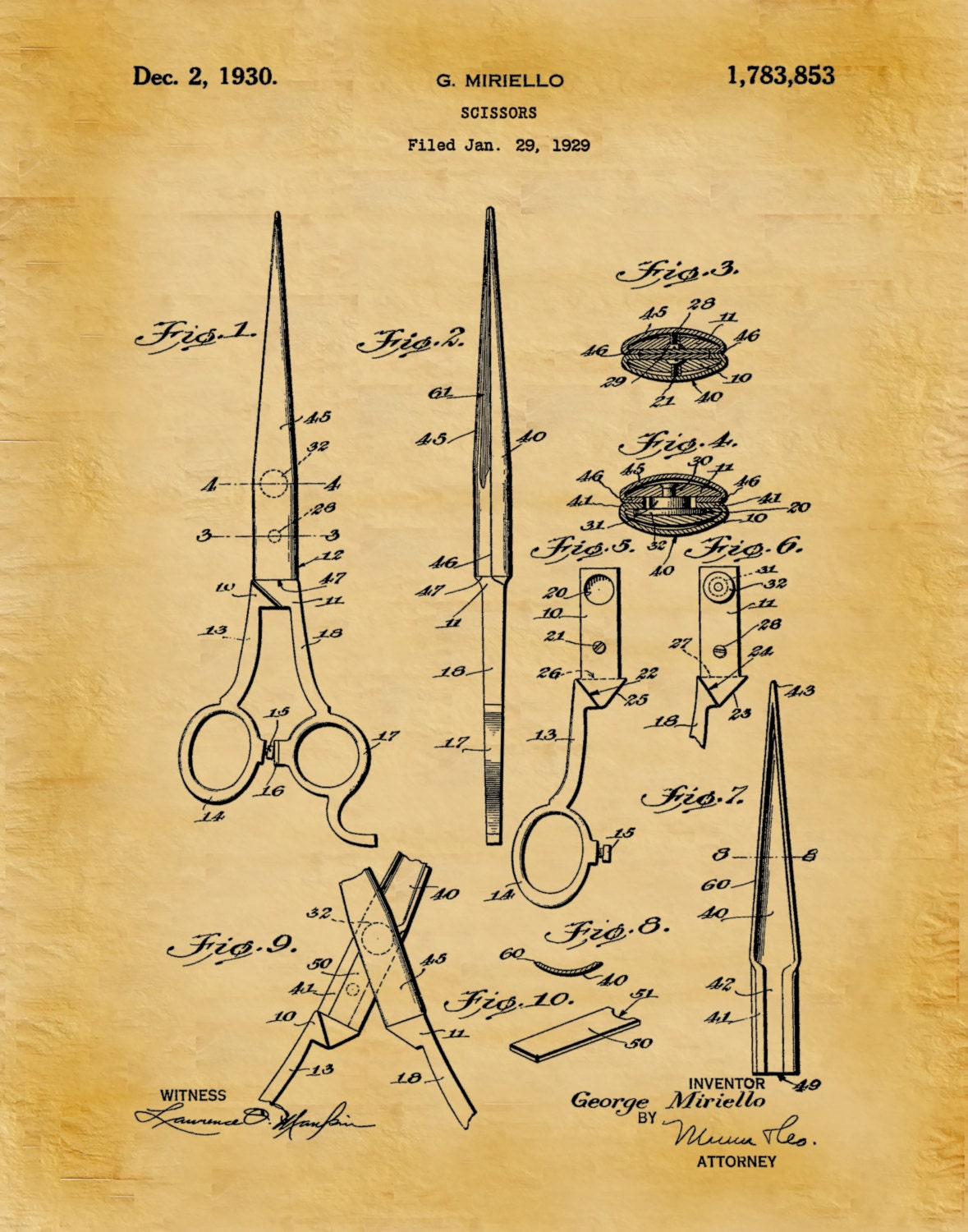 Patent 1930 scissors art print poster barber shop shears hair patent 1930 scissors art print poster barber shop shears hair salon scissor hairdresser art beautician art beauty shop wall art malvernweather Images