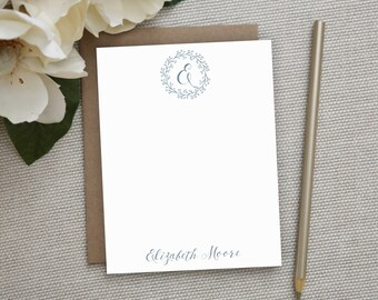 Personalized Stationery. Personalized Notecard Set. Personalized Stationary. Note Cards. Personalized. Stationery. Sets. Berry Wreath.