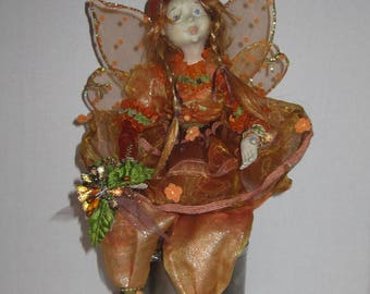 15 inches Holiday Fairy Ornament