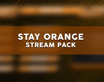 Stay Orange Stream Pack