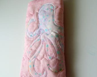 Coastal Eyeglass Case: Octopus