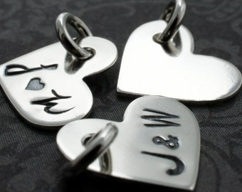 """Sterling Silver 1/2"""" Heart Charm - EWD Extras and Add Ons"""