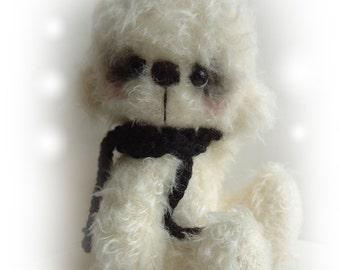 Artist bear Pooky OOAK bear e-pattern by Jenny Lee of JennyLovesBenny Bears