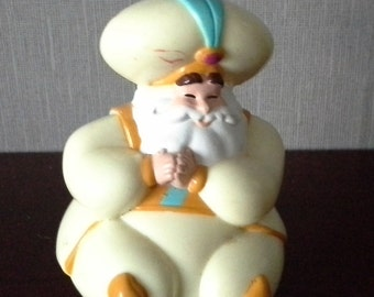 The Sultan from Disneys Aladdin mcdonalds toy