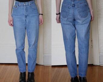 vintage mom jeans // 1990s mom jeans // 90s high rise denim