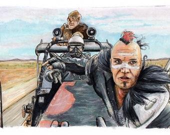 Mad Max - The Road Warrior - Wez  Print