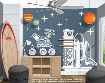 More Colors. Space Mars Rover Vinyl Wall Decal ...