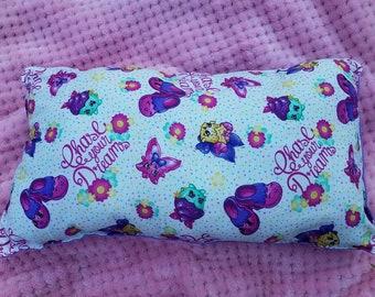 Disney Shopkins kids purple pillow,snuggles pillow,small pillows ,travel pillow,
