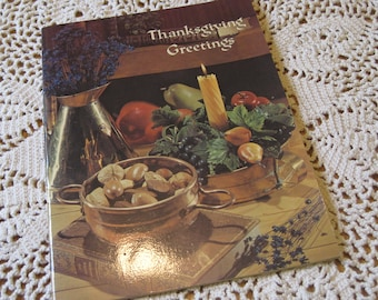 Vintage 1975 Ideal Publishing Thanksgiving Booklet