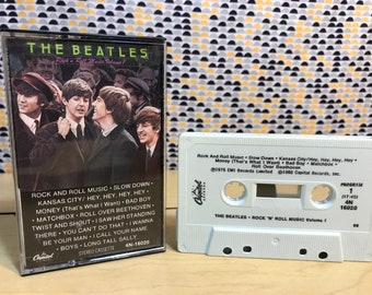 Beatles - Rock 'N' Roll Music Volume 1  -  Cassette tape - Capitol Records