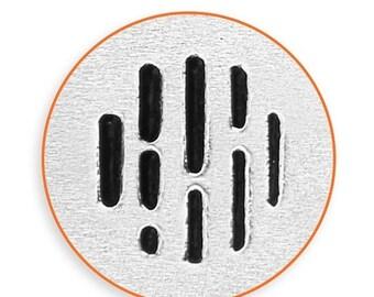 10% Off Clearance 6mm Vertical Line Texture Metal Stamp, ImpressArt Texture Design Stamp, Impress Art Stamps, Use w/ Texture Stamper, DIY Je