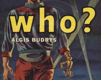 Who - 10x17 Giclée Canvas Print of Vintage Pulp Science Fiction Paperback