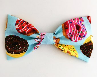Delicious Donuts Bow Barrette