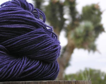 Sport Weight Yarn - Merino Superwash - Indigo Bush