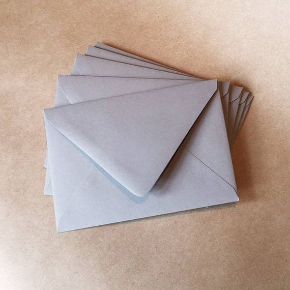Letterpress Papers + Supplies : small envelopes w personalized color choice