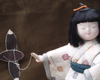 Japanese kite Doll