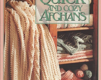 Quick and Cozy Afghans by Oxmoor House Staff (1994, Paperback)