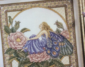 Summer Faerie Cross Stitch Pattern by Teresa Wentzler 2281 Fairy Season Chart, 1996