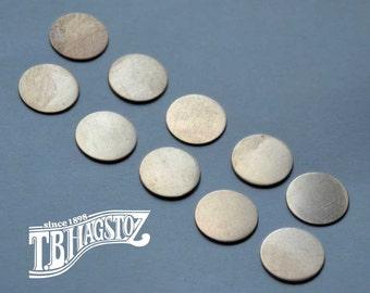 24 gauge x 3/4 inch Nickel Silver Disc 50 pieces