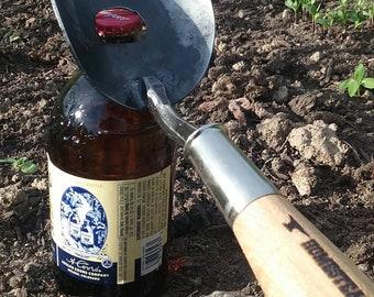 Bottle Opener, Large Trowel, Hand Forged Garden Tool