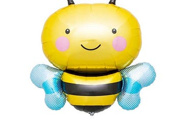 Bee | Bumble Bee Balloon | Baby Shower Decor | Party Supplies | Birthday Party Supplies | First Birthday | Gender Reveal | Craft Supplies