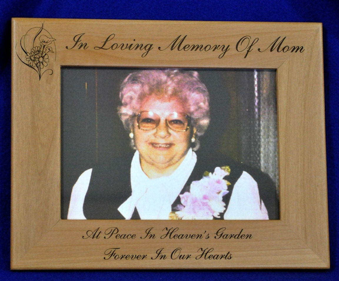Loss Of Mom Gift ~ Mom Memorial ~ Memorial Gift ~ Funeral Gift ...