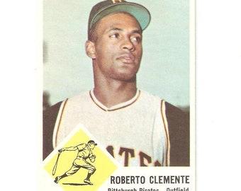 1963 Fleer Roberto Clemente EX+