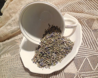Headache Liberation Loose Herbal Tea,  lavender, catnip, lemon balm, sage, rosemary, herb tea, no caffeine