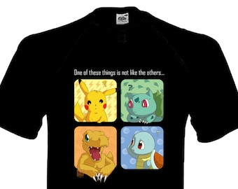 Pokémon - One of these Things is not like the Others